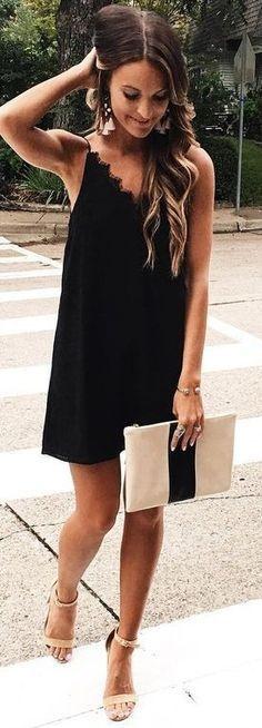 25  best ideas about Black summer dresses on Pinterest | Women's ...