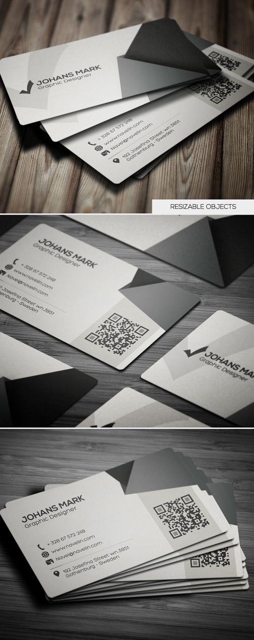 Creative Business Card #businesscards #printready #psdtemplates