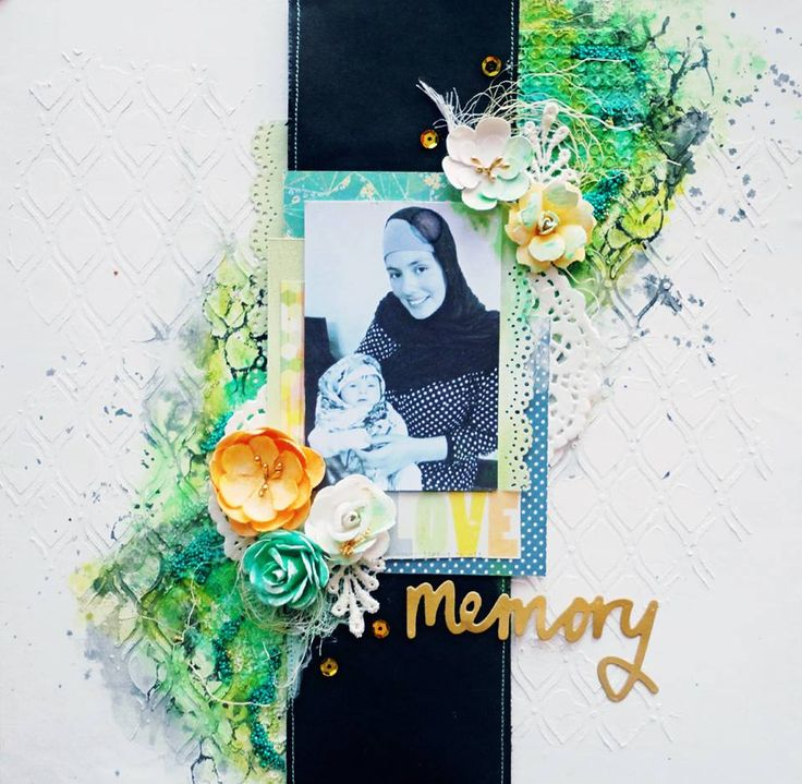 """Layout """"Love memory"""" by Noura Pompilla"""