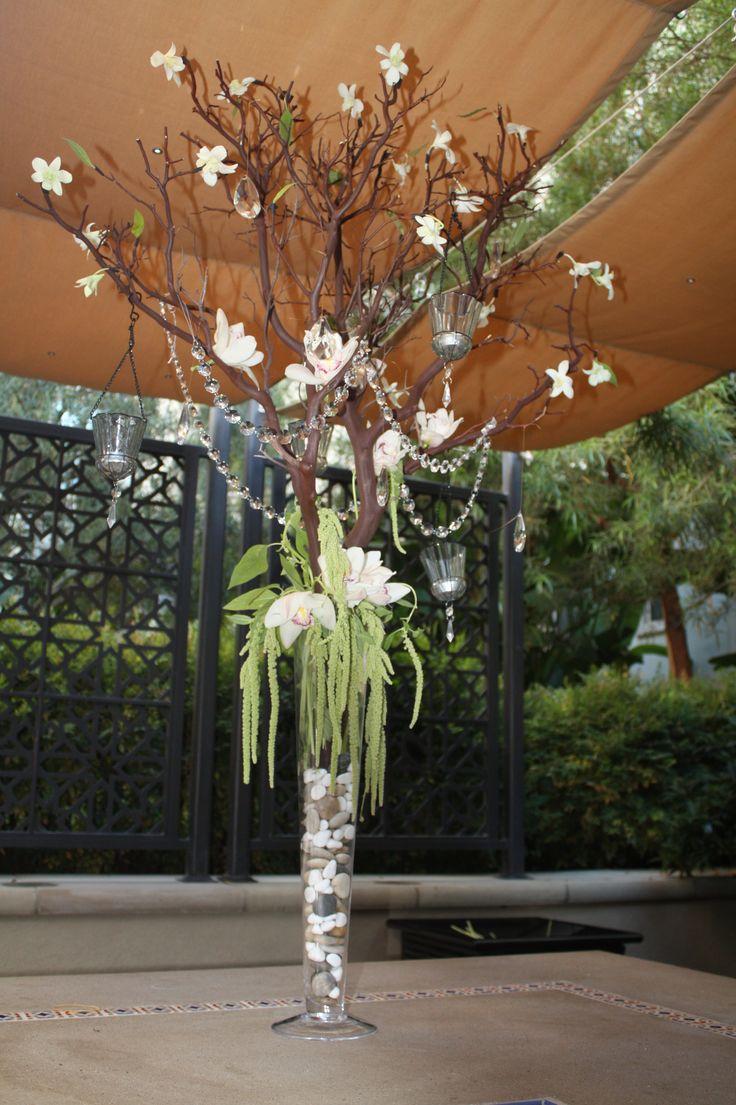 Quinceanera centerpieces trees