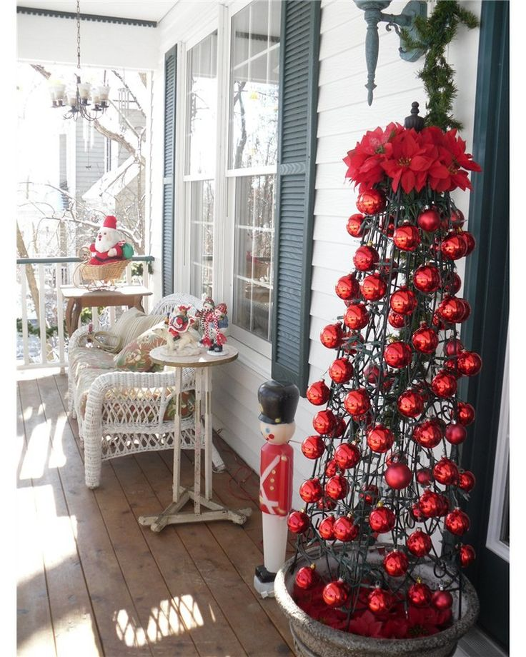 Christmas Front Porch Ideas 231 best christmas - outdoor images on pinterest   merry christmas
