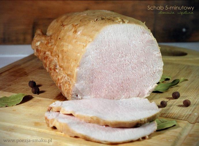 Schab 5-minutowy - domowa wędlina