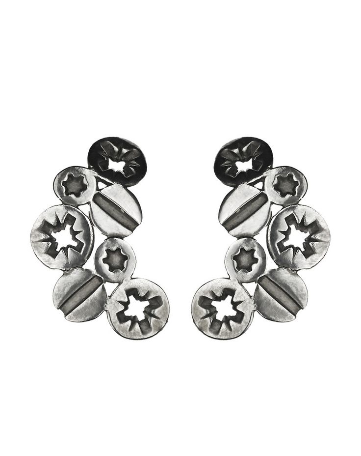 Multi Screw Earrings - these are so cool!