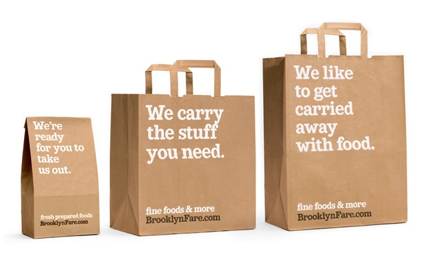 clever packaging #brooklynfare #packaging