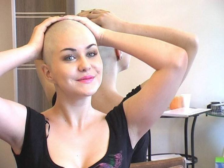 Are absolutely girls being head shaved