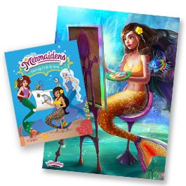 Mermaid Gifts - Books & Posters   by Fin Fun