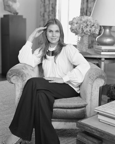 Aerin Lauder (granddaughter of cosmetic icon Estée)