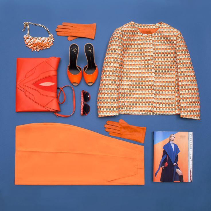 Теперь витамина C у вас будет в достатке, потому что оранжевый действительно хит сезона! Босоножки, брюки-кюлоты, перчатки и многие другие вещи буквально заряженные сочным апельсиновым цветом ждут вас на topbrands.ru! #topbrandsru #fashion #orange #оранжевый #тренд #look #style