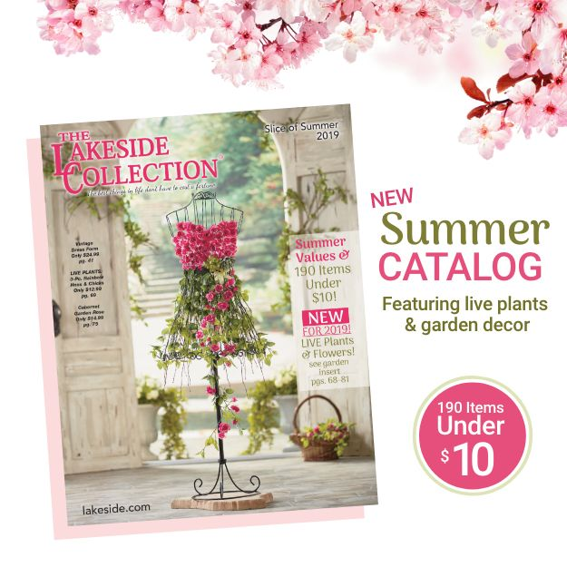 The Lakeside Collection Summer 2019 Catalog Is Here Gift Catalog Lakeside Collection Garden Decor