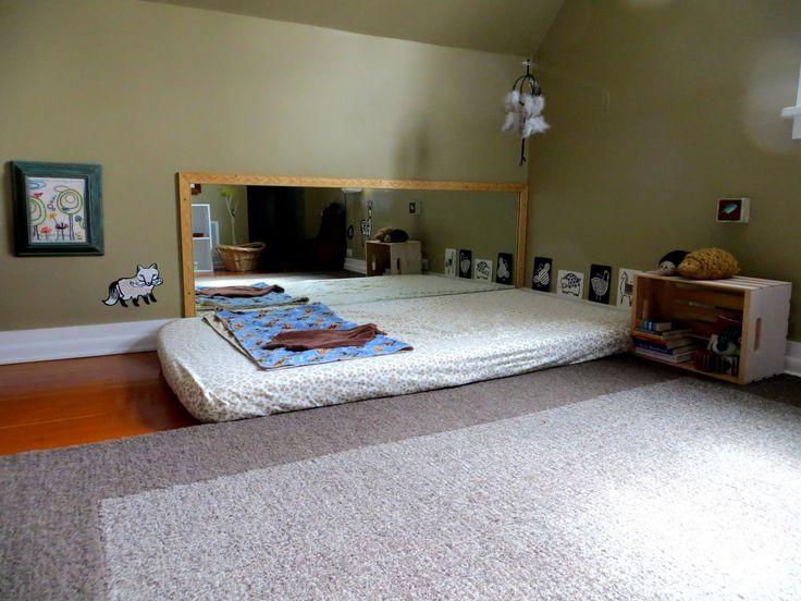 Chambre Montessori pour bébé : les grands principes