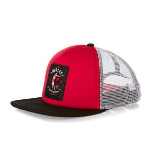 Hurley Caps - Hurley All Day Trucker Cap - University Red