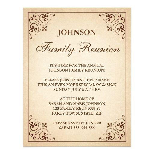 Invitation Letter For Reunion Cobypic