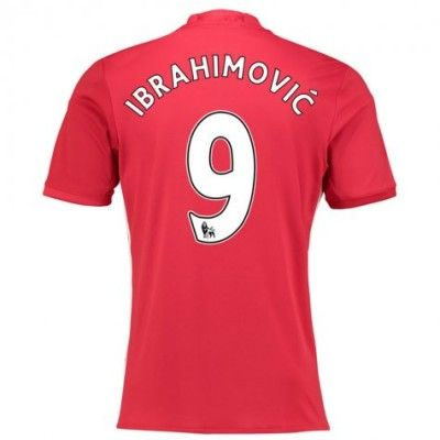 Manchester United 16-17 Zlatan Ibrahimovic 9 Hjemmebanetrøje Kortærmet.  http://www.fodboldsports.com/manchester-united-16-17-zlatan-ibrahimovic-9-hjemmebanetroje-kortermet.  #fodboldtrøjer