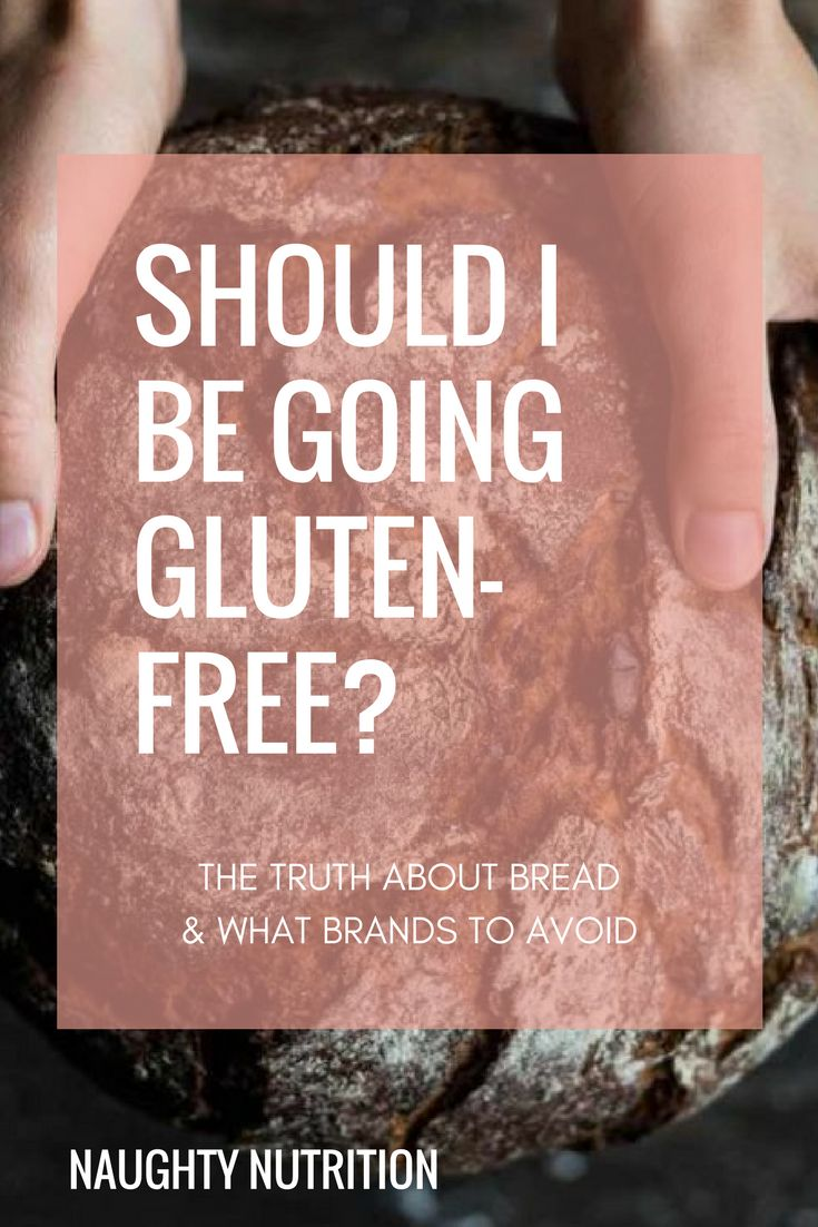 Thinking about going gluten-free? You might not have to, here's all you need to know. #naughtynutrition #glutenfree