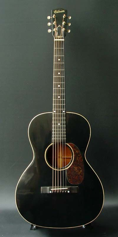 1931 Gibson L-00 acoustic guitar.