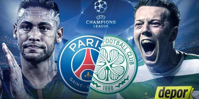 Ver PSG VS CELTIC en VIVO ONLINE DIRECTO por Champions League 2017