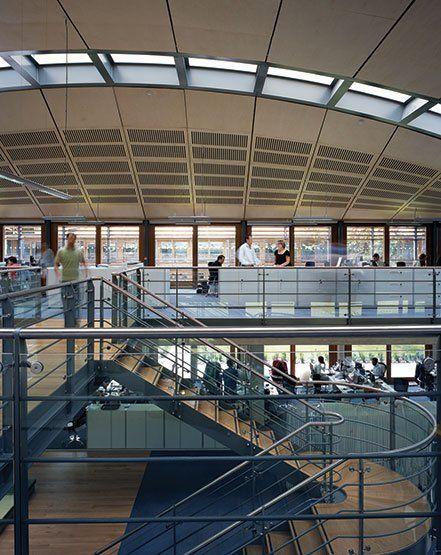 Lawn Tennis Association: National Tennis Centre | Hopkins Architects