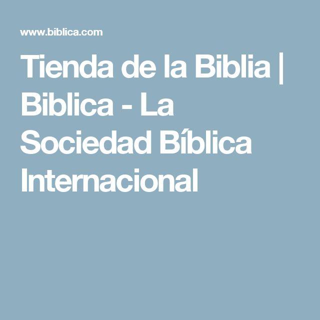 Tienda de la Biblia    Biblica - La Sociedad Bíblica Internacional