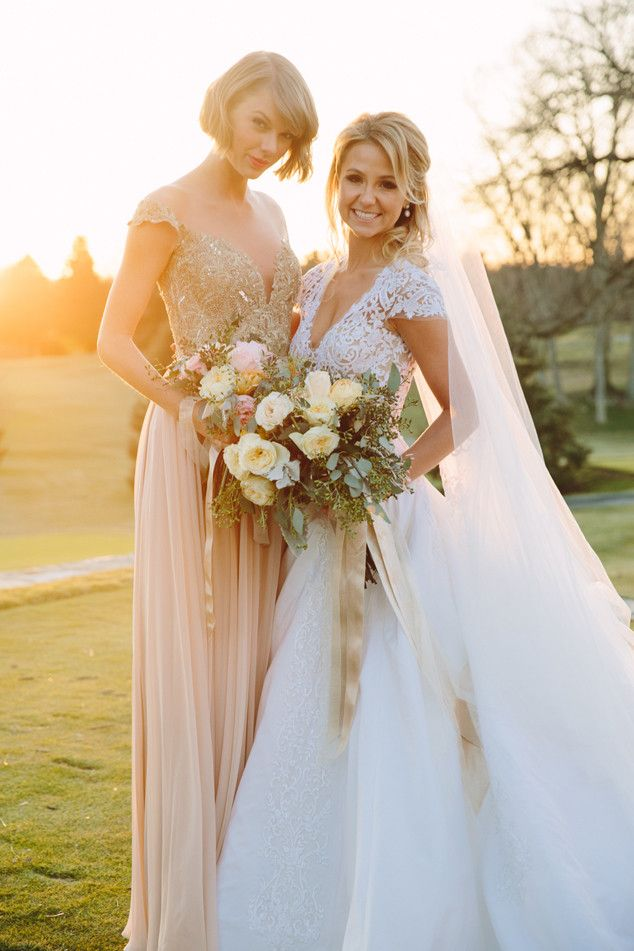 Taylor Swift Is Maid of Honor at Friend's Wedding and Looks Just as Beautiful as the Bride | E! Online