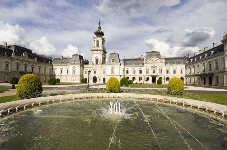 Festetics Palace (pron. fesh-teh-titsh), Keszthely, Hungary