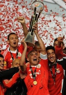 Maxi Pereira and Benfica (won the league cup for the fourth time in a row!)