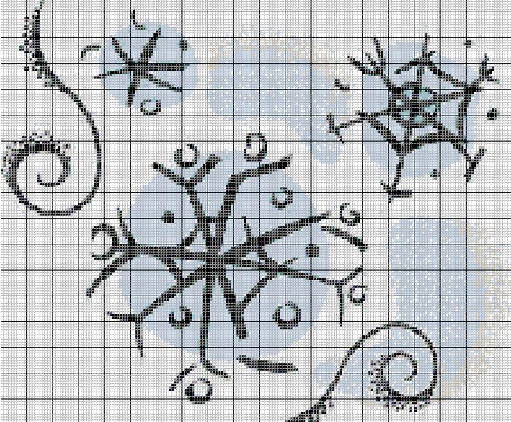 22 best Patrones de Punto de Cruz Navideños/Christmas cross Stitch ...