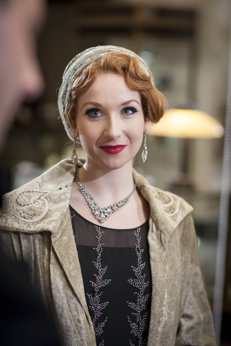 Kitty Edwards - Amy Beth Hayes in Mr Selfridge Season 4, set in 1928 (TV series).