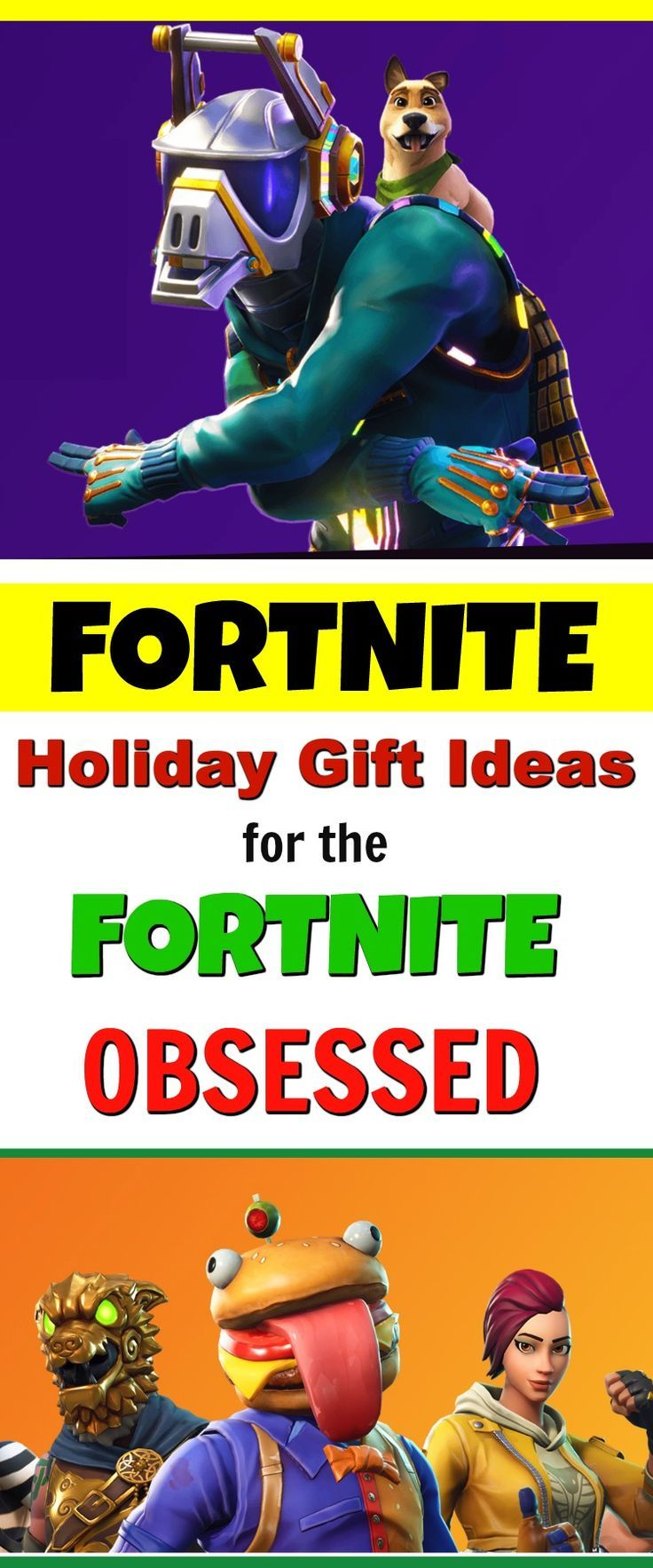 Fortnite Epic Games Gift Ideas For The Fortnite Gamer Kids Birthday Party Food Gifts For Kids Gifts