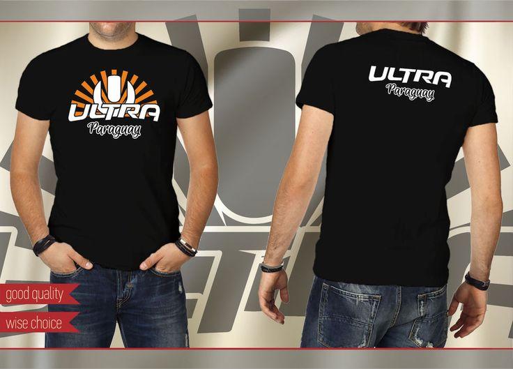 ULTRA PARAGUAY Music Festival Fans T-shirt COLOR: Black Size: S - XXL #SOLS #PersonalizedTee