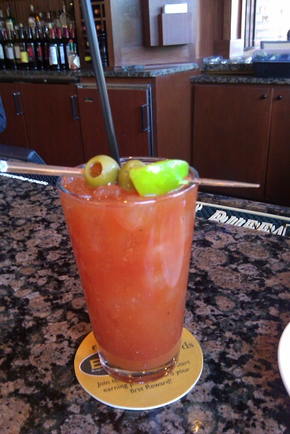 Keeneland Bloody Mary recipe