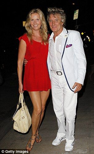 Rock star Rod Stewart, 71, (pictured with his wife Penny) is to receive a knighthood in the Queen's Birthday Honours