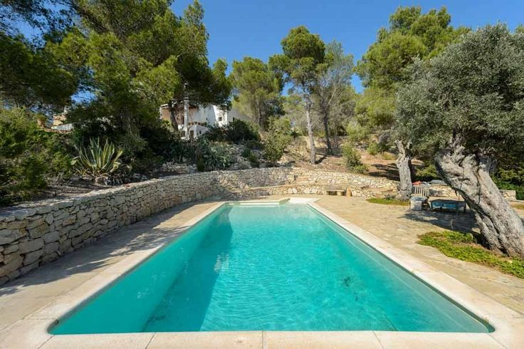 Pool. Garden. Olive trees. Country estate, west coast of Ibiza. Property for sale. Ref. 575100, by Kelosa