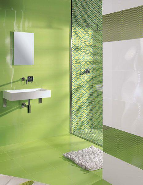2015 combinaciones de colores de azulejos para ba os archinteriors pinterest toilet - Combinaciones de colores de ceramicas para banos ...
