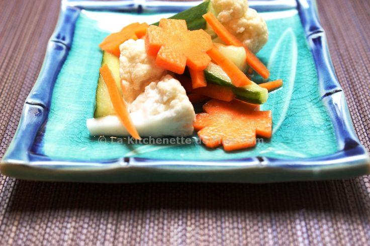 Légumes aigres-doux à la vietnamienne (đồ chua) - La kitchenette de Miss Tâm