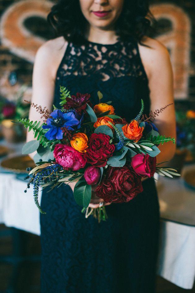 Cool Restaurant Wedding | Blue Elephant Photography | Bridal Musings Wedding Blog
