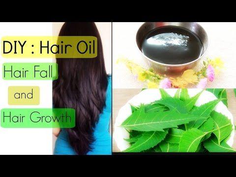 DIY : Neem Oil for Hair Fall and Hair Growth | Hair Fall Treatment | YouTube India - YouTube