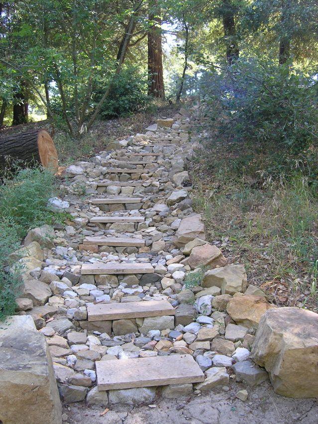 Most Design Ideas Building Stone Steps On Hillside