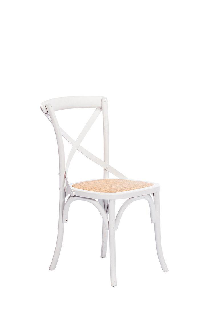 Birch Wood Cross Chair| Mrphome Online Shopping