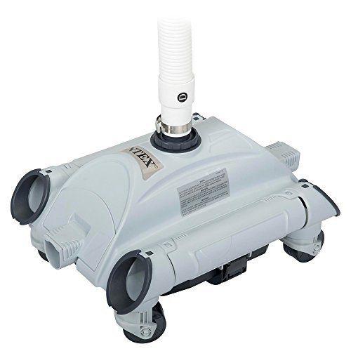 INTEX – Robot de piscine Nettoyeur automatique Aspirateur de fond – Pour filtration de 4.54 m3/h à 13.25 m3/h: Maintenez votre piscine hors…