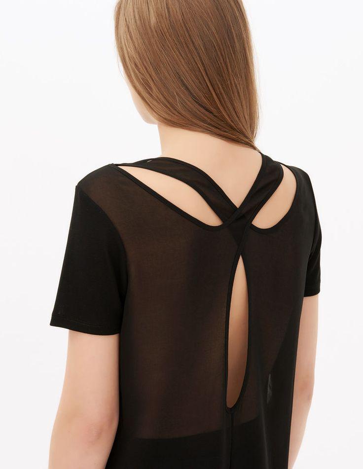T-Shirt Tawes - T-shirts - Sandro Paris
