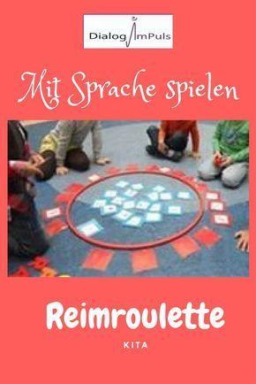 Idee für die Kita für ein Spiel mit Reimen. – Annette Gehlhaus