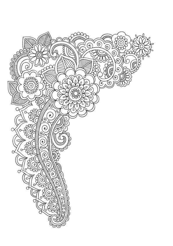 179 best adult coloring pages (free) images on Pinterest