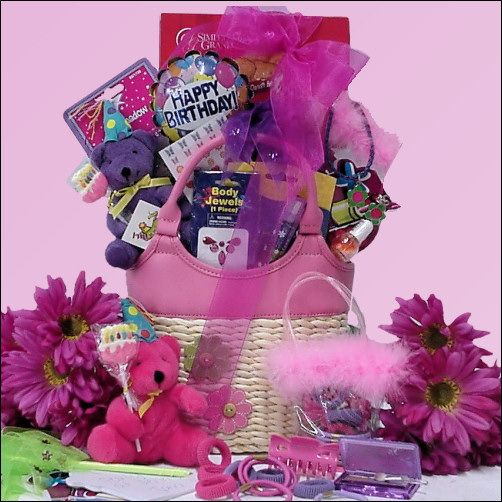 Birthday Gifts By Age: 126 Best Images About ™�Teen Girl Gift Baskets♦ On