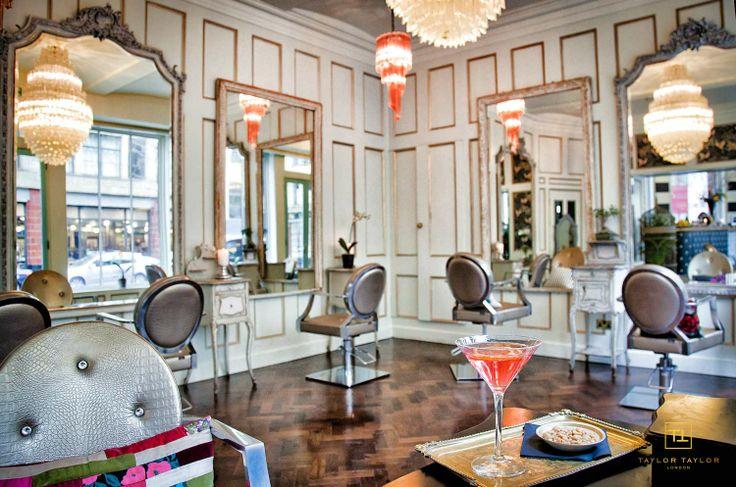 Taylor Taylor London — Commercial Street Flagship Salon Gallery Repurposing those frames...