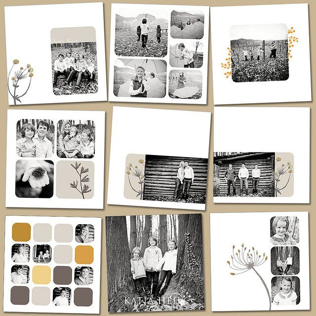 layout family album
