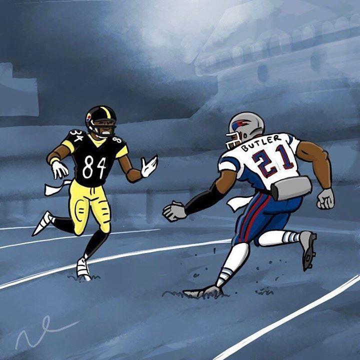 Malcom Butler and Antonio Brown are two of the best athletes in the game and a fun matchup to watch tonight. #PITvsNE #AFC #AFCChampionship #NFLPlayoffs #NFL #AntonioBrown #MalcomButler http://ift.tt/2jNHXyE - http://ift.tt/1U6eqe8