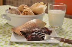 Tamales de chocolate con Nutella   Informe21.com #Food #Comida #Receta