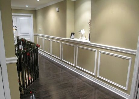 how to balance wall wainscot paint colors