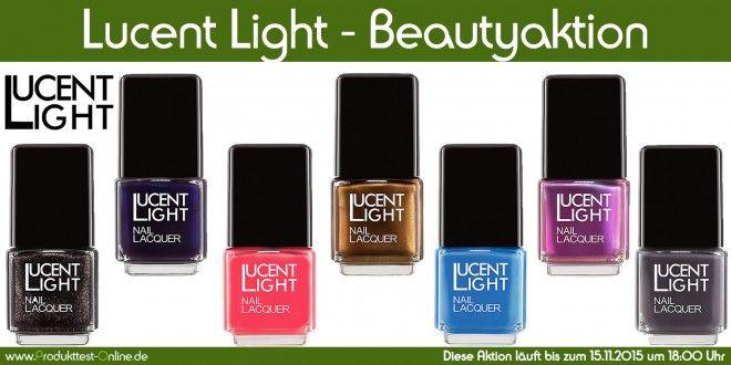Teste die komplette Collection von Lucent Light   Produkttest-Online