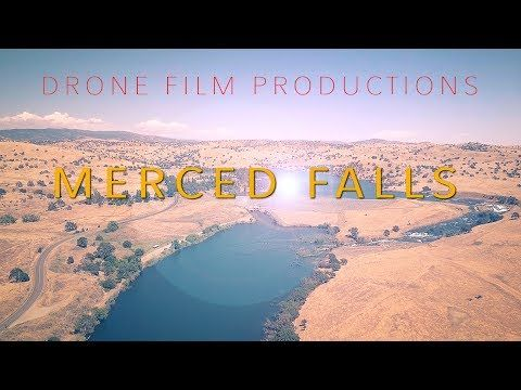 Merced Falls - Merced California - DJI Mavic Pro Footage - YouTube